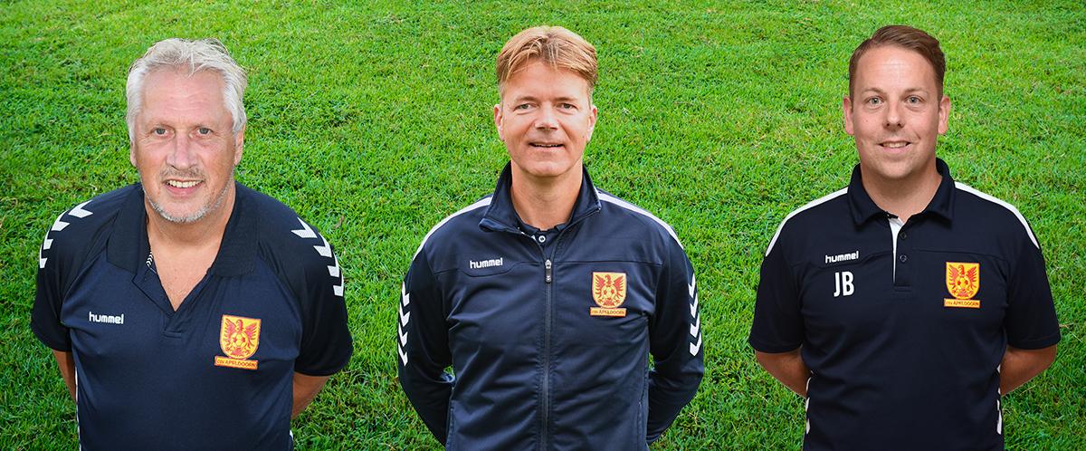 John Burghout, Menno Hof en Jeroen Berghuis ook komend seizoen jeugdtrainer