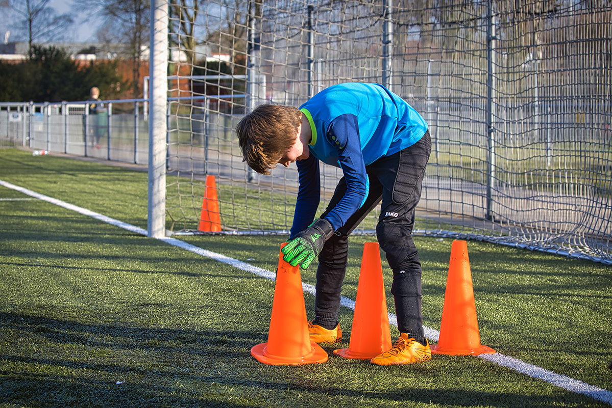 Nieuw jeugdplan onder de loep - de keeperstraining