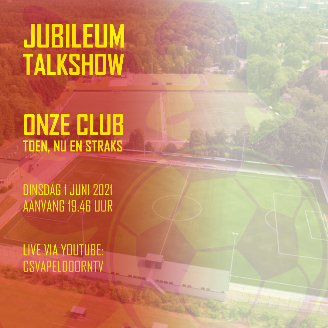Kijktip voor 1 juni: Jubileum-talkshow