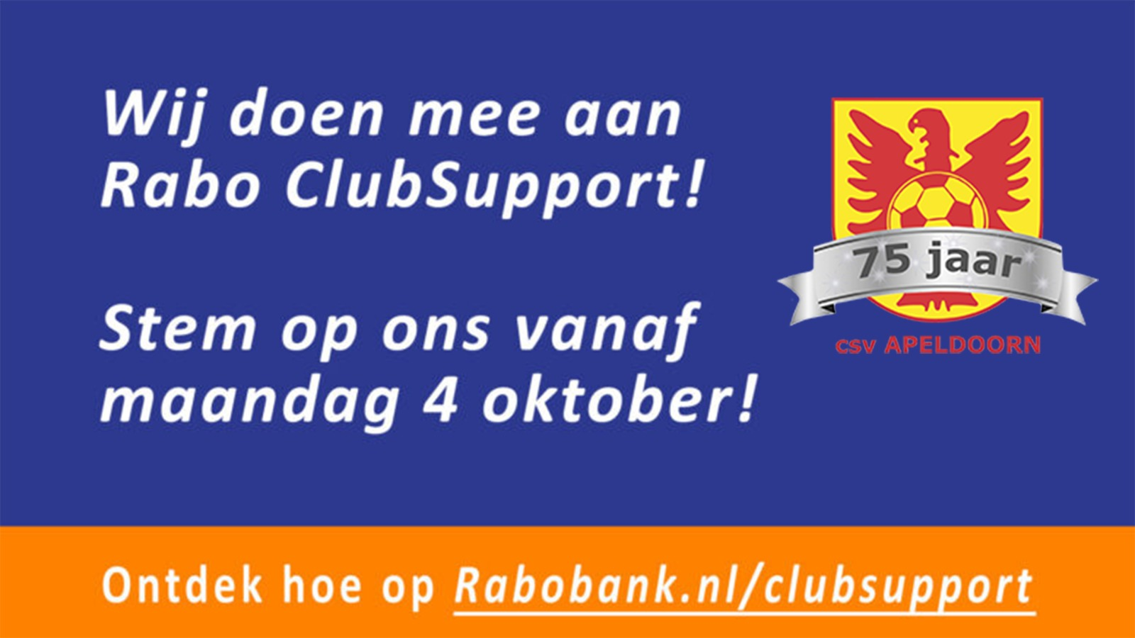 Doe mee met Rabo ClubSupport!