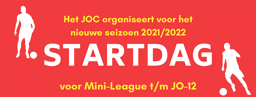 JOC organiseert startdag voor Mini-League t/m JO12