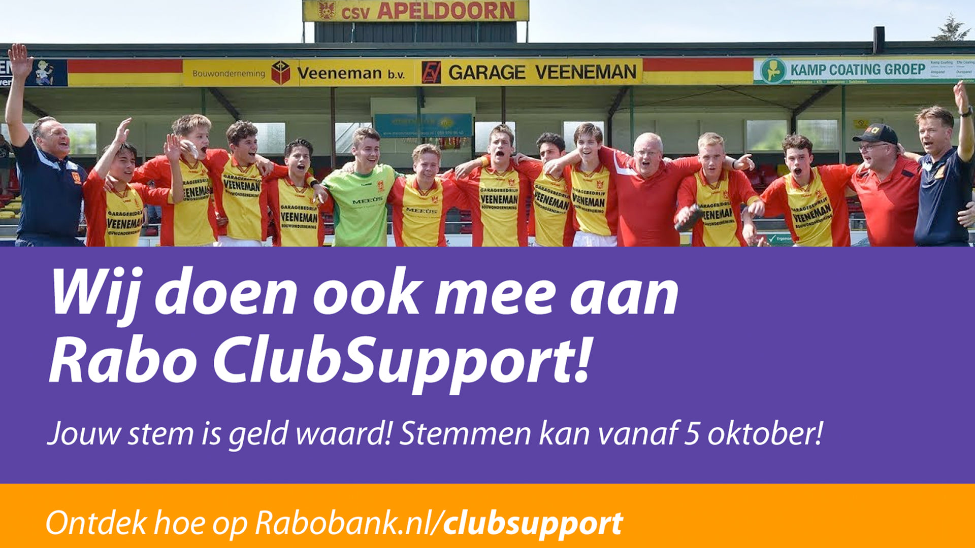 Opbrengsten Rabo ClubSupport