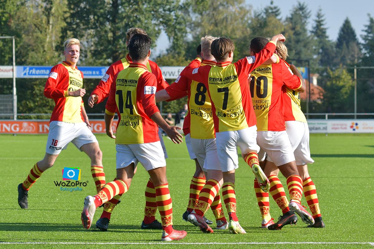 csv Apeldoorn verslaat Nunspeet in boeiend voetbalgevecht